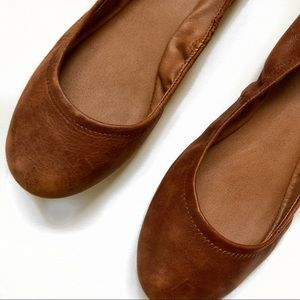 Lucky Brand   Emmie Brown Leather Flats   10